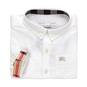 NWT - Burberry Baby Oxford Shirt (Size 6 Months)